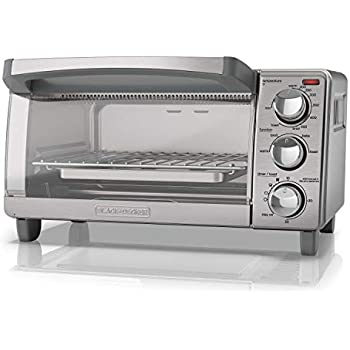 Amazon Com Black Decker 4 Slice Toaster Oven With Natural