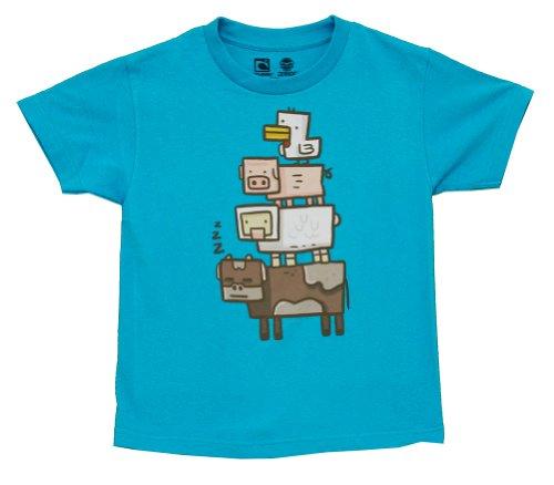 youth-turquoise-minecraft-animal-totem-t-shirts-large-turquoise