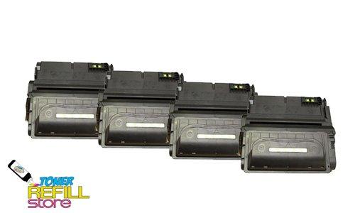Toner Refill Store TM 4 Pack Premium Compatible Q1338A 38AToner Cartridge for HP LaserJet 4200 4200n 4200dtn 4200tn