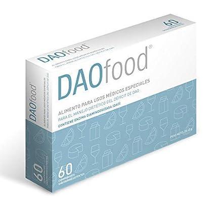 DAOfood 60 comprimidos para el manejo dietético del Déficit de DAO