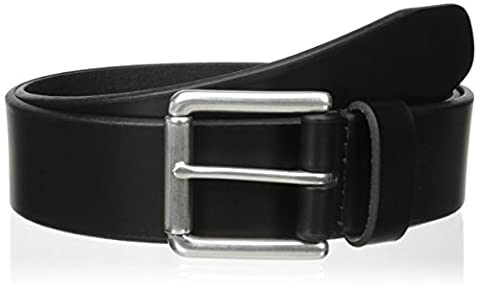 Dockers Men's 1 1/2 In. Leather Bridle Belt,Black,32 - Mens Bridle