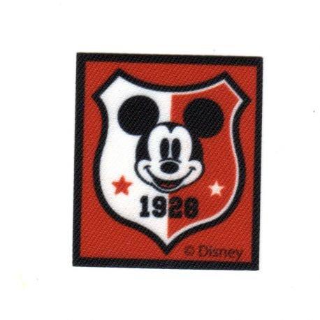 Gé né rique Ecusson Thermocollant Mickey College University 5 x 5, 50 cm Générique