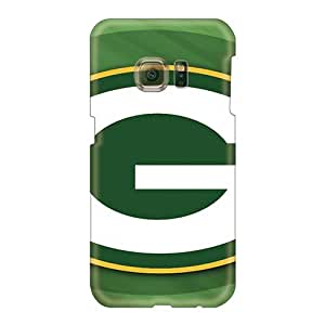 RobAmarook Samsung Galaxy S6 Bumper Cell-phone Hard Covers Customized Trendy Green Bay Packers Image [Dpx672FOcY]
