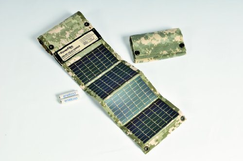 PowerFilm USB+AA Solar Charger in Digital Camo by PowerFilm Solar