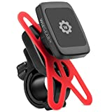 Magnetic Bike Mount, WizGear Universal Magnetic Bicycle & Motorcycle Handlebar Phone Holder for Cell Phones and GPS with Fast Swift-Snap Technology, Magnetic Bike Phone Holder