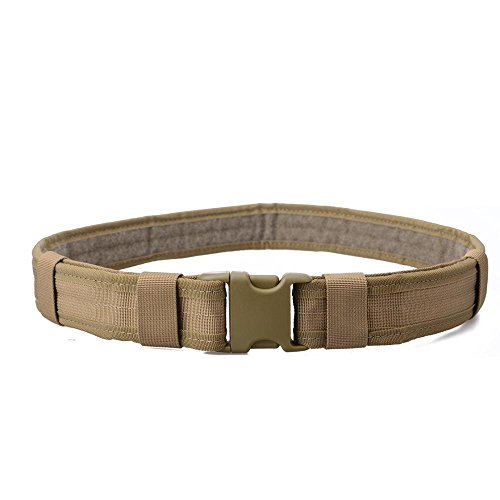 Tactical Belt: 1.9 Inch, Heavy Duty, Military Style, Nylon, and Waist Adjustable with Quick Release Buckle. (Military Belt)