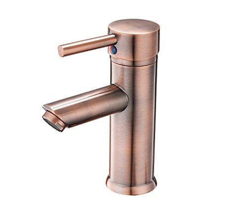 Copper Bathroom Vanity Sink - 1