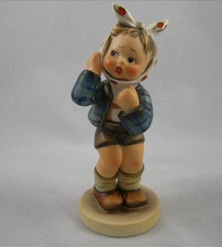 Hummel Figurine Boy with a Toothache # 217