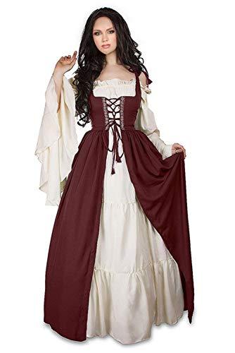 Newcos Boho Renaissance Costume for Women Halloween Irish