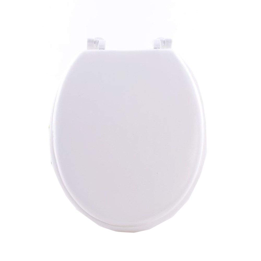 U Owhite41.534.5cm MMKJ White Toilet Seat, Soft Close Adjustable Hinge Quick Release Top Fixed Toilet Seat Cover Bathroom Lid Family Use,U ORed41.5  34.5CM