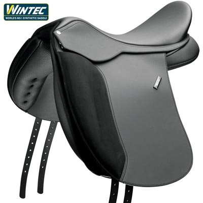 Wintec 500 Wide Dressage Flocked Saddle 18