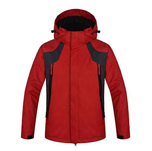 Rosso In Uomini Tuta Impermeabile Alpinismo Sci Inverno Rivestimento Antivento Degli 3 Calore Da Esterni Del 1 0AnwUO4q
