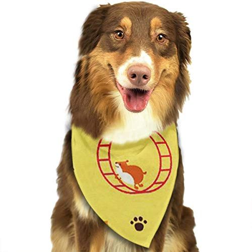FRTSFLEE Dog Bandana Happy Guinea Pig Scarves Accessories Decoration for Pet Cats and Puppies -