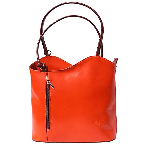 Orange à 207 marron sac èpaule en sac dos transformable à xxC0XqS8