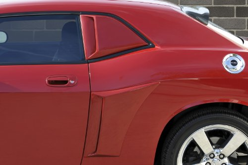 Xenon 12950 Right and Left Quarter Window Side Scoop Kit (Quarter Scoops Window)
