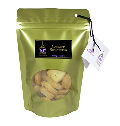 Pelindaba Lavender Farm-made Lavender Shortbread - 24 pack