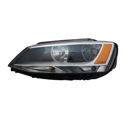 TYC 20-12562-00-1 Volkswagen Jetta Left Replacement Head Lamp