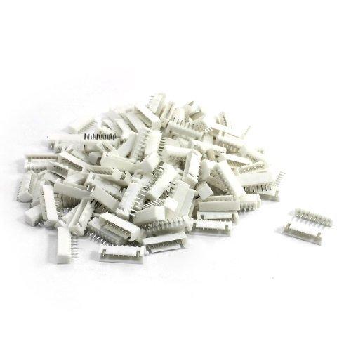 150 Pcs 1 Fila 8Pin 2.54mm PCB conectables Header Connector Socket