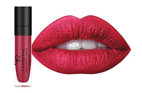 Golden Rose Long Wearing LONGSTAY Liquid Matte Lipstick, 06-Tutti Fruity