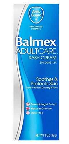 - Balmex Adult Care Rash Cream, 3 oz Per Tube (3 Pack)
