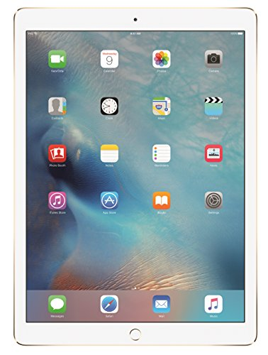 Apple iPad Pro (128 GB, Wi-Fi, Gold) – 12″ Display