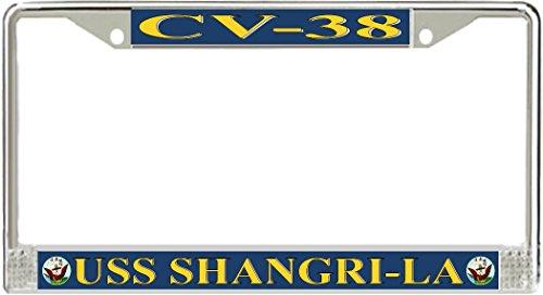 uss-shangri-la-cv-38-license-plate-frame