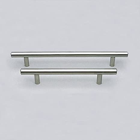 Schwinn Stangengriff Edelstahl 35-3306, 12 mm D, für Küchenfronten 2x642 mm