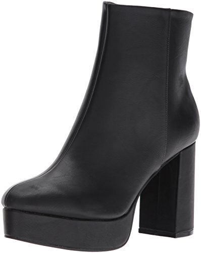 Chinese Laundry Women's Nenna Boot, Black Smooth, 8 M US