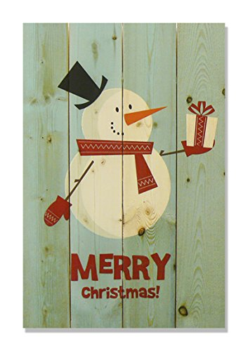 Wood Snowman Plaque - Wile E. Wood