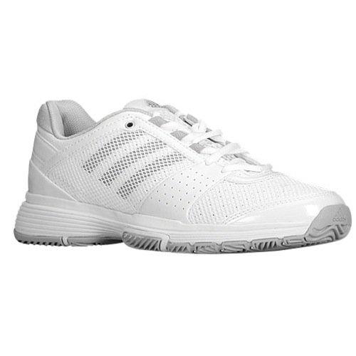 adidas Women's adipower? Barricade Team 3 Running White/Metallic Silver/Ice Grey 9 B - Medium