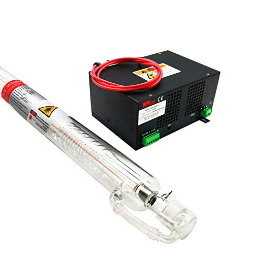 MCWlaser 50w Peak Co2 Laser Tube(85mmm) Industry G
