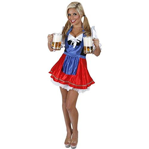 Adult St. Pauli Girl Costume (Size:X-Large 14-16)