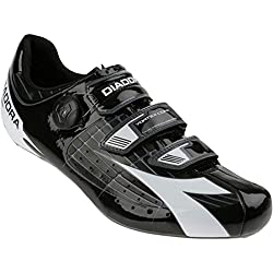 Diadora Vortex Comp Shoes - Men's Black/White, 38.0