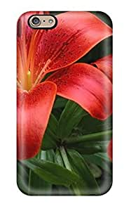 AnnaSanders ChQAXOY5243rxjkq Protective Case For Iphone 6(amazing Fire Lilies Digital)