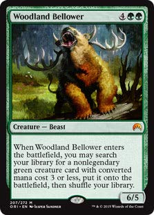 Magic: The Gathering - Woodland Bellower - Magic Origins
