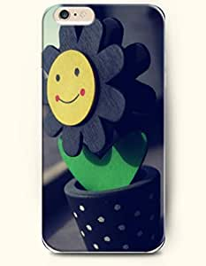 OOFIT iPhone 6 Case ( 4.7 Inches ) - Smiling sunflower