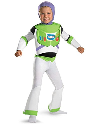 Toy Story Buzz Lightyear Deluxe Costume - Size: 3T-4T