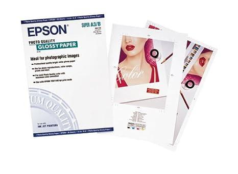 Epson Papel fotográfico para impresoras de A3 + (20) S041133 ...