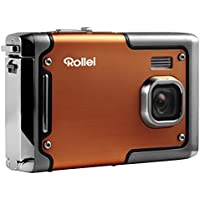 Rollei Sportsline 85 - Digital Camera - 8 Megapixels, 1080p Full HD Video Resolution, Waterproof up to 3 meters - Orange