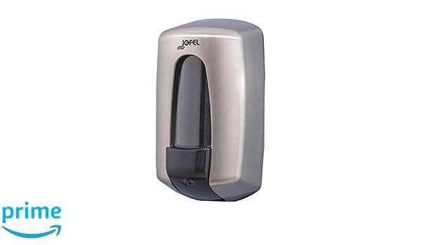 Jofel AC70800 Dosificador de Jabón Aitana Rellenable, Niquelado, 0,900 L.: Amazon.es: Industria, empresas y ciencia