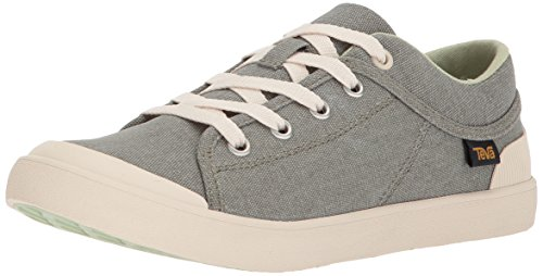 (Teva Women's W Freewheel Washed Canvas Sneaker, Desert sage, 7.5 M US)