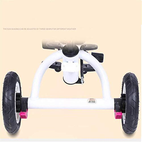 Amazon.com: PLDDY Standard Pushchairs Twins Tricycles Children Doubles Bicycles Twins Baby Trolley 1-7 Years Old Baby Car: Home & Kitchen