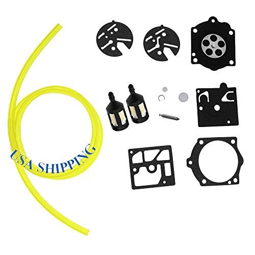 Shnile Carburetor Rebuild Repair Kit for HDB Carb McCulloch PRO MAC 605 610 650 Chainsaw K10-HDB K1-HDB HDB Carburetor