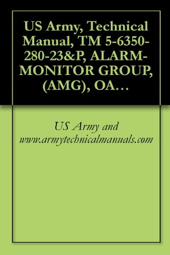 US Army, Technical Manual, TM 5-6350-280-23&P, ALARM-MONITOR GROUP, (AMG), OA-9431/FSS-9(V) CAGEC 97403
