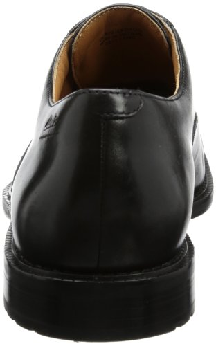 Leather Dorset Nero Scarpe Black Boss stringate Clarks uomo gwqzR1v6