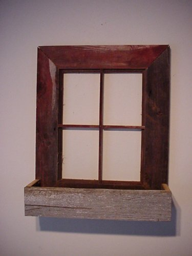 Amazon.com : Amish Country Collectible Handmade Barn Wood Window ...