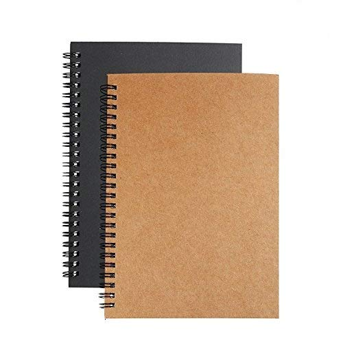 Soft Cover Spiral Journal Notebook (2-Pack)