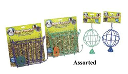 (Ware Manufacturing Hay Feeder with Free Salt Lick, 1 Pack)
