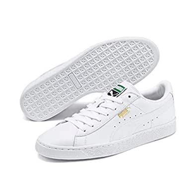 Puma Basket Classic Lfs Shoes 11 D(M) US White