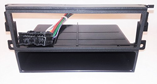 Dash kit and wire harness for installing a new Single Din Radio into a MITSUBISHI ECLIPSE(1995-2005) - MITSUBISHI MONTERO SPORT(2000-2004) - EAGLE TALON(1995-1998) - that has a Standard factory radio